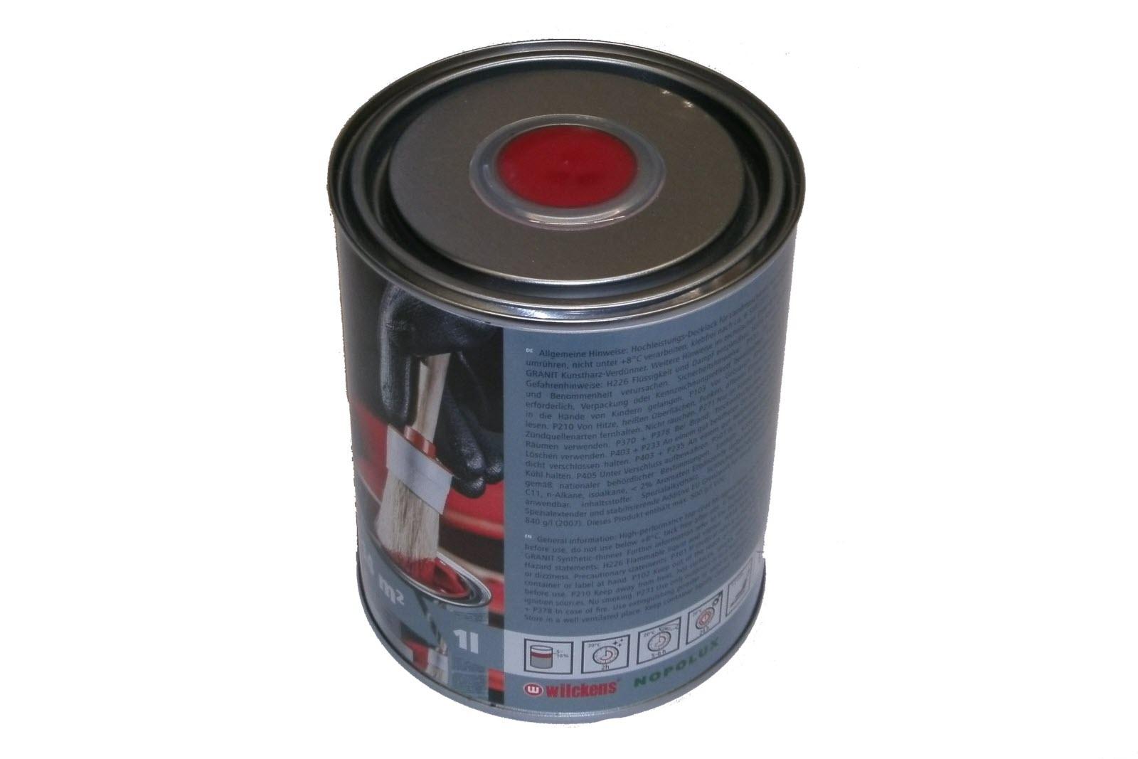 lack farbe fahr rot ral 3003 traktor lacke und grundierung. Black Bedroom Furniture Sets. Home Design Ideas