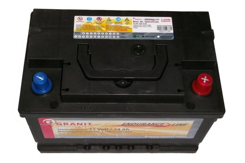 batterie starterbatterie 12v 74 ah granit endurance line. Black Bedroom Furniture Sets. Home Design Ideas